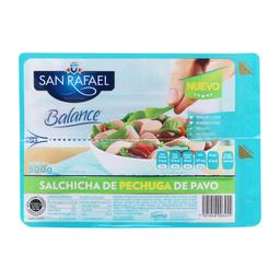 Salchicha San Rafael Balance de Pechuga de Pavo 500 g