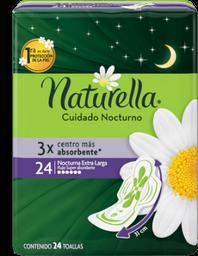 Toalla Femenina Naturella Nocturna Abundante 24 U