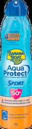 Protector Solar Banana Boat Aqua Protect Sport 50+ FPS 170 g