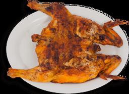 Pollo Entero al Carbón