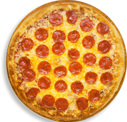 Pizza Nueva Parmesan Pepperoni Crust - Pepperoni