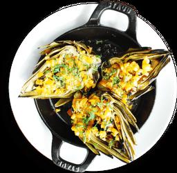 Alcachofas Enteras al Grill