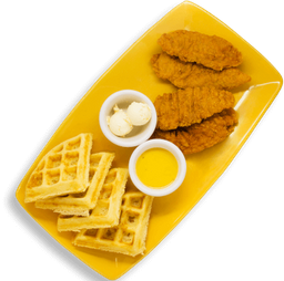 2 x 1 Chicken and waffles