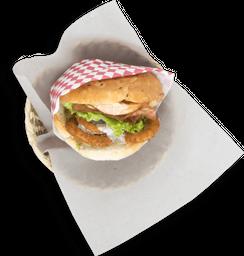 Burger Mar y Tierra Crunchy