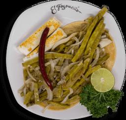 Tacos de Nopal Especial