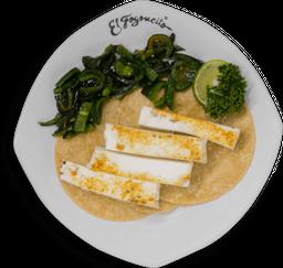 Tacos de queso panela