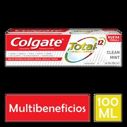 Pasta Dental Colgate Total 12 Clean Mint 100 mL