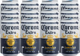 Cerveza Corona Extra Lata 355 mL x 12