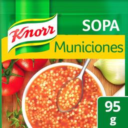 Pasta Para Sopa Knorr de Municiones 95 g