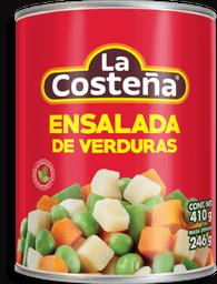 Ensalada de Verduras La Costeña 410 g