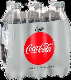 Refresco Coca-Cola Light 1 L x 6