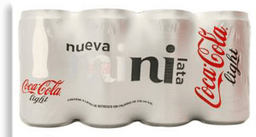 Refresco Coca-Cola Light Lata 235ml, 8 pack