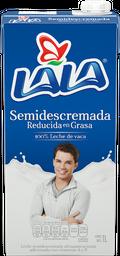 Leche Lala Semidescremada Reducida en Grasa 1 L