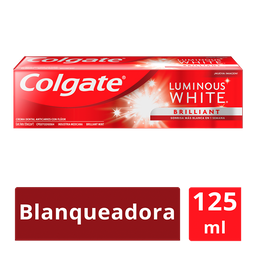 Colgate Pasta Dental Luminous White Brilliant 125 Ml