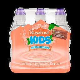 Agua Natura Bonafont Kids 300 mL x 6