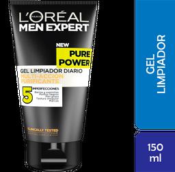Gel Limpiador LOréal Paris Facial Men Expert Purificante 150 mL