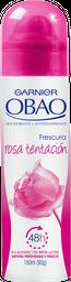 Desodorante Mujer Spray Obao Rosa Tentación