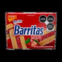 Barritas Marinela Fresa Caja