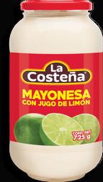 Mayonesa La Costeña Con Limón 725 g