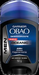Desodorante Hombre Barra Obao Oceanico