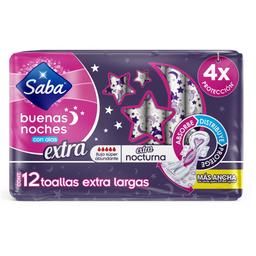 Saba Toalla Femenina  Extra Largas