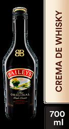 Crema de Whisky Baileys Original 700 mL