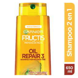 Shampoo 2En1 Fructis Stop Caída
