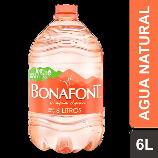 Agua Bonafont Natural 6 L