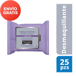 Neutrogena Toallitas Desmaquillantes Night Calming 25 Piezas