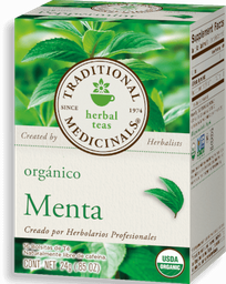 Té de Menta Traditional Medicinals 24 g