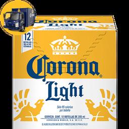 Cerveza Corona Light Clara 355 mL x 12