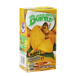 Boing jugo de mango 500ml.
