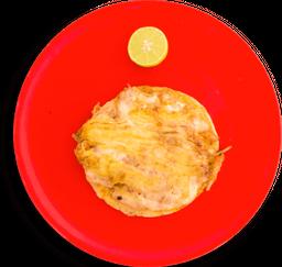 Taco de cochinita pibil con queso