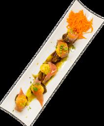 Brócolis en tempura