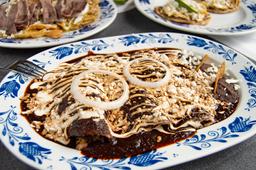 Enchiladas de Santiago
