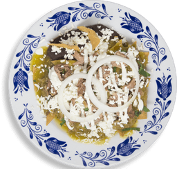 Chilaquiles con Barbacoa + Refresco 355 ml