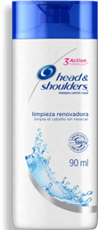 Shampoo Head & Shoulders Limpieza Renovadora 90 mL