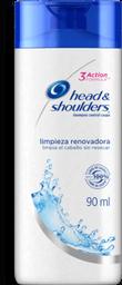 Shampoo Head & Shoulders Limpieza Renovadora 90 mL