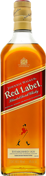 3x2 Whisky Johnnie Walker Red Label 700 mL