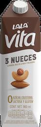 Leche Lala Soy Vita Tres Nueces 960 mL