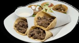 Tacos de shawarma