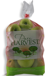 Manzana Golden Pure Harvest Bolsa