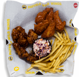 Traditional and Boneless Wing Combo
