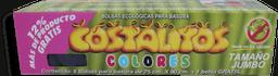 Bolsas Costalitos Para Basura Ecológicas de Colores Jumbo 8 U
