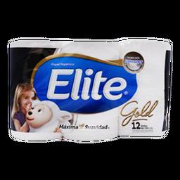 Papel Higiénico Elite Gold 12 U