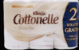 Papel Higiénico Kleenex Cottonelle Beauty Care 6 U