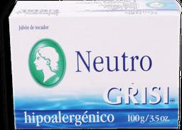 Jabón de Tocador Grisi Neutro Hiporalergénico