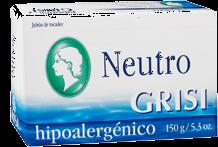 Jabón Neutro Grisi Hipoalergénico Barra 150 g