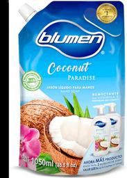 Jabón Blumen Para Manos Líquido Coconut Paradise 1050 mL