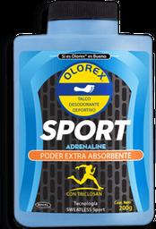 Olorex Sport Talco Poder Extra Absorbente